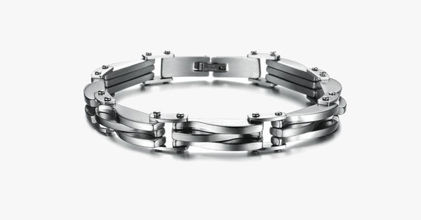 Mark's Stainless Steel Bracelet