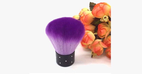 Large Brush With Crystals - FREE SHIP DEALS