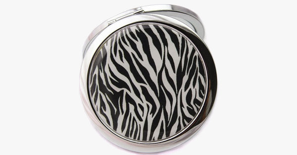 Safari Print Pocket Mirror