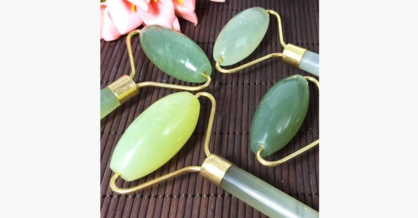 Jade Roller - Portable Facial Massager