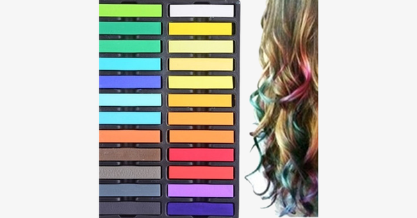 Multipurpose Hair Chalk Pastels - FREE SHIP DEALS