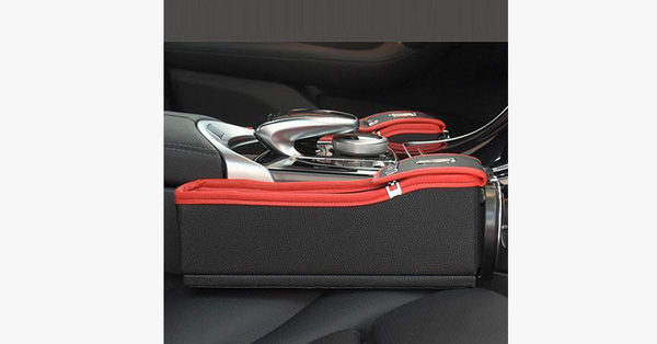 Posh and Trendy Crevice Storage Box for Car Seat