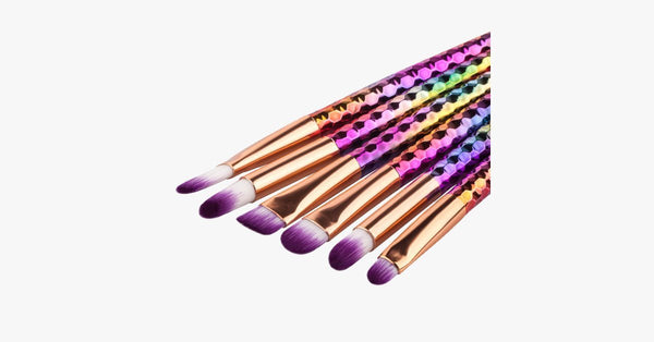 Brow-Lip Unicorn Brush Set - FREE SHIP DEALS