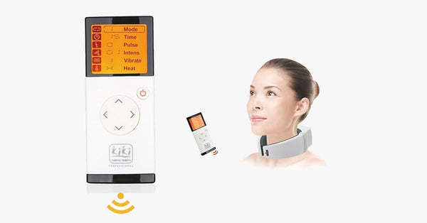 Remote Control Neck Massager