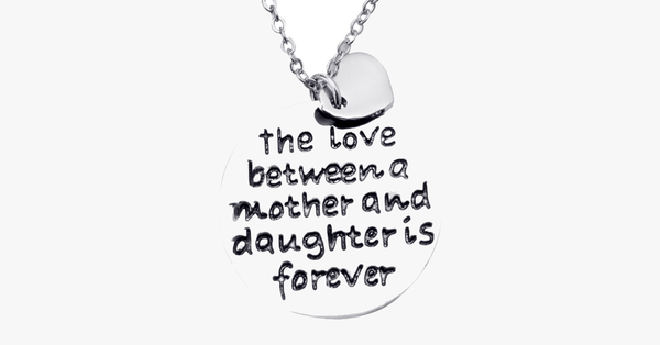 Mother and Daughter Love Pendant