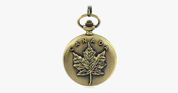 Canada 150th Birthday Celebration Pocket Watch - FREE SHIP DEALS