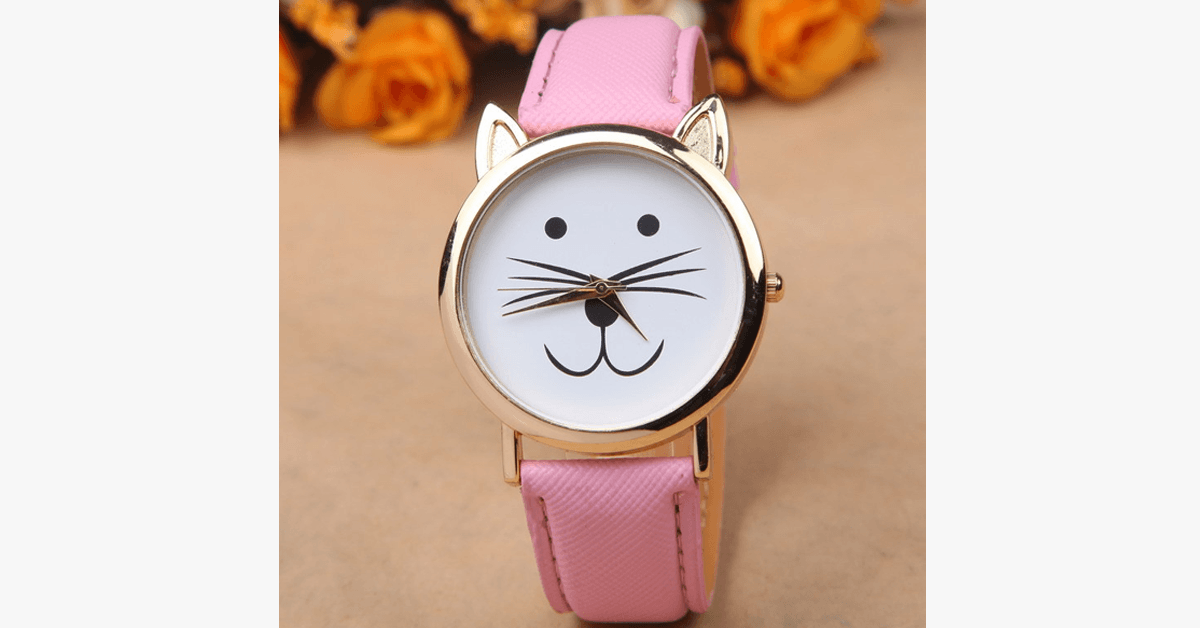 Cute Cat Watch - FREE SHIP DEALS
