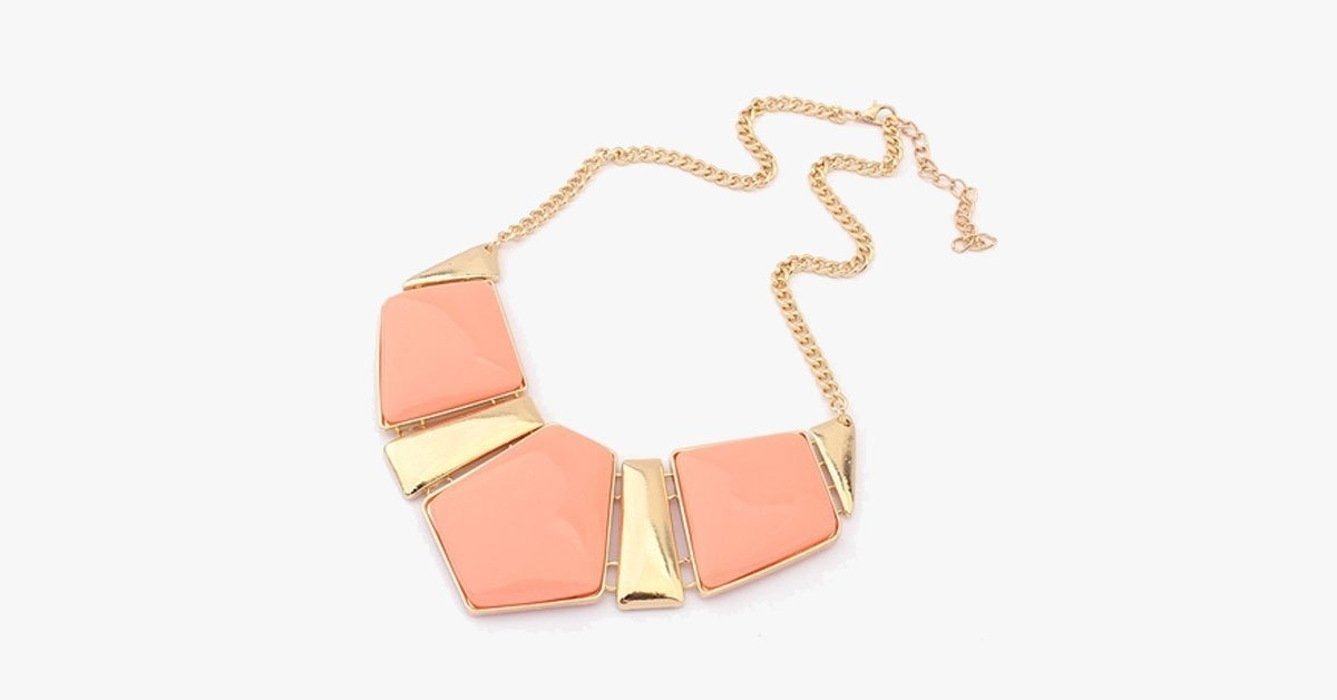 Candy Color Collar Statement Necklace - FREE SHIP DEALS