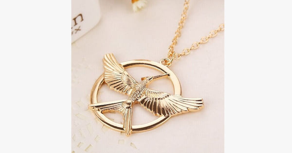 Hunger Games Necklace - FREE SHIP DEALS