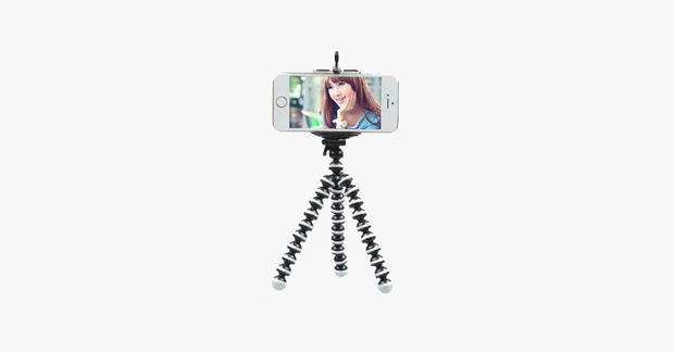 Mini Flexible Selfie Smartphone Tripod - FREE SHIP DEALS
