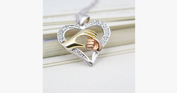 Mother's Hand Pendant - FREE SHIP DEALS