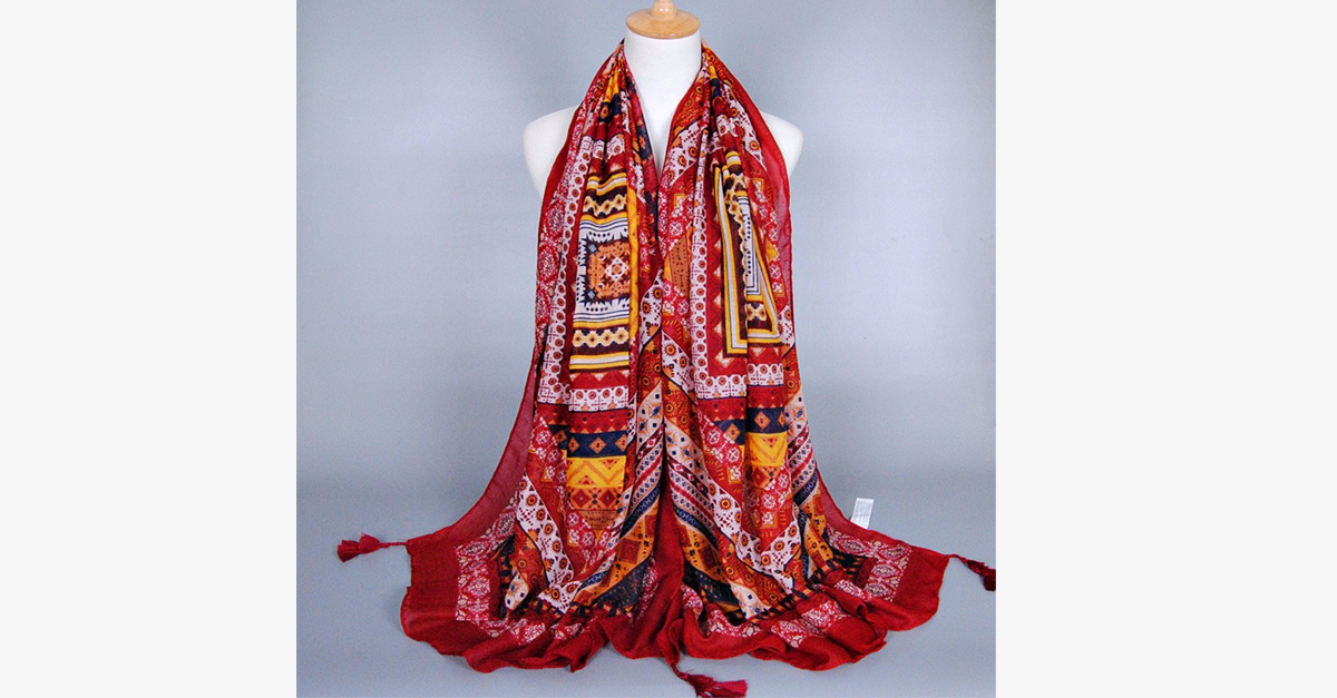 Bohemian Tapestry Pashmina Shawl - FREE SHIP DEALS