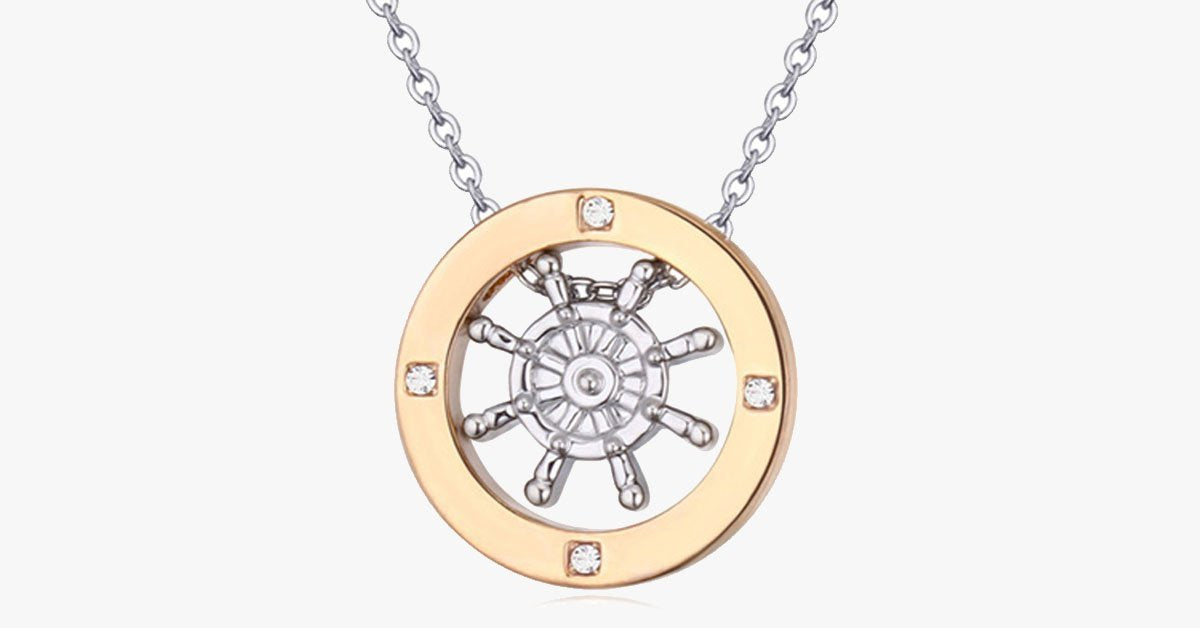 Gold Journey Pendant - FREE SHIP DEALS