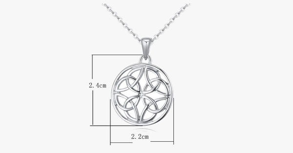 Celtic Knot Silver Pendant - FREE SHIP DEALS