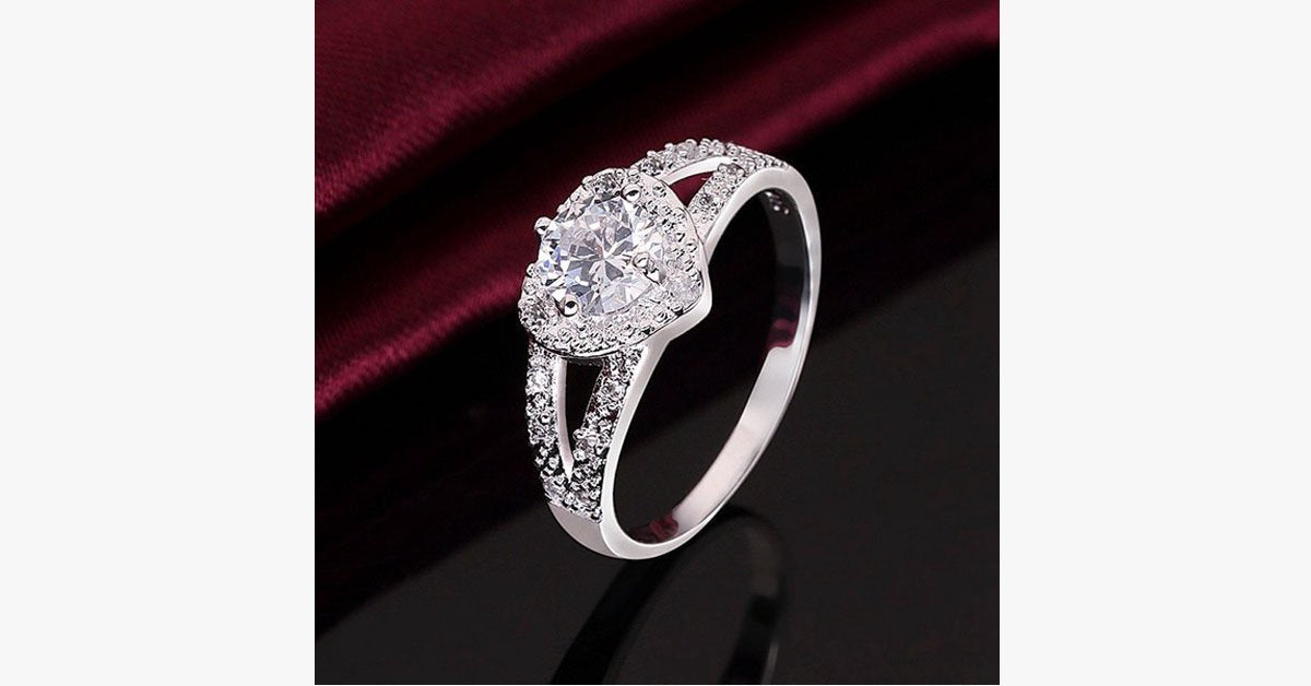 Love-Struck Double Band Ring - FREE SHIP DEALS