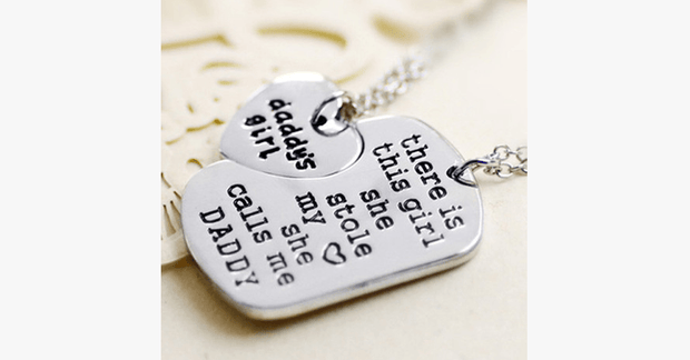 Daddy's Girl Necklace Set - FREE SHIP DEALS