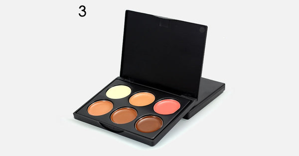 6 Color Makeup Concealer Cream Contour Palette - FREE SHIP DEALS