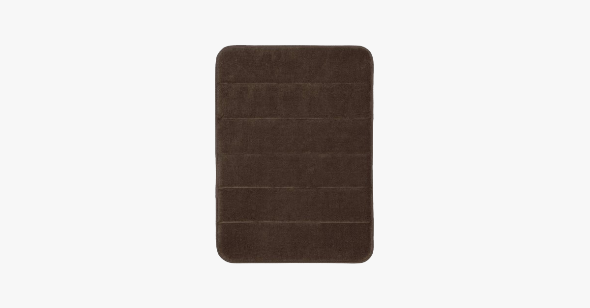 Memory Foam Bath Mats – Say Goodbye To Accidental Slipping!