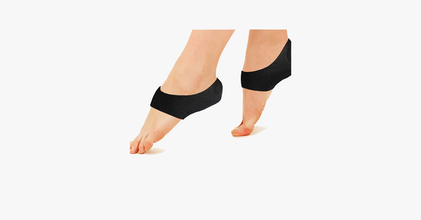 2 Pack: Foot Shock-Absorbing Plantar Fasciitis Therapy Wraps - FREE SHIP DEALS