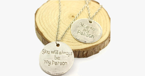 My Person Pendant Set - FREE SHIP DEALS