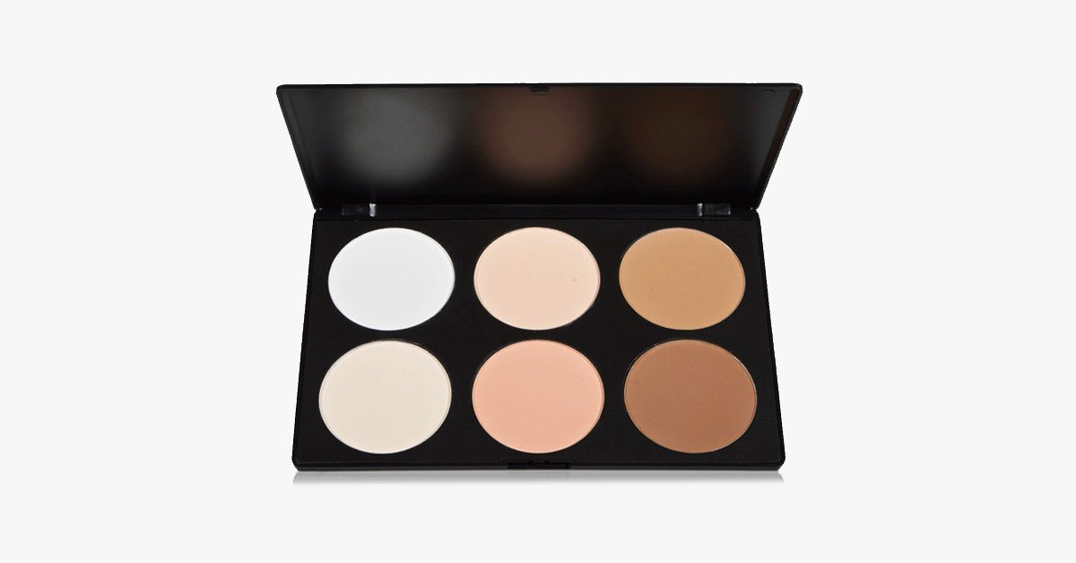 6 Color Blush Bronzer - FREE SHIP DEALS