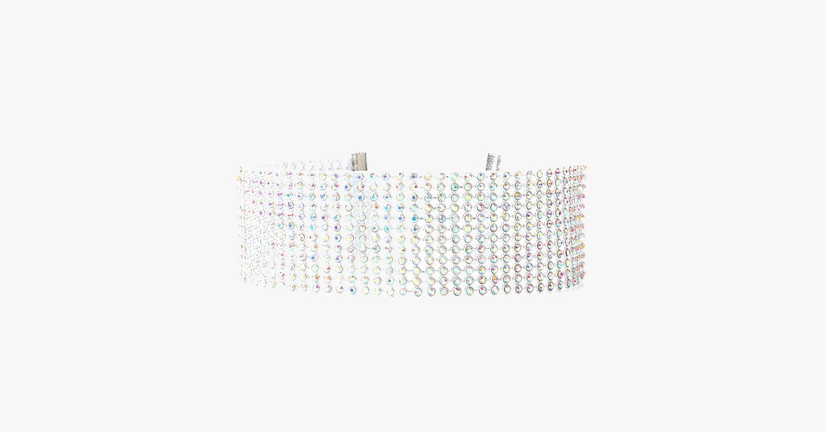 Crystal Collar Choker Necklace - FREE SHIP DEALS