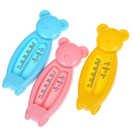 Baby Bear Bath Thermometer and Bath Toy Thermometer (3 Pack)