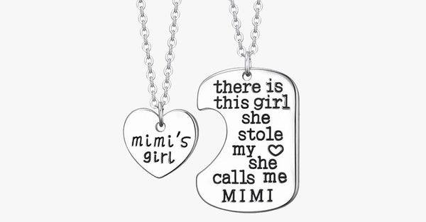 Mimi's Girl Pendant Set - FREE SHIP DEALS