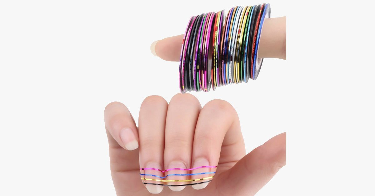 Nail Decal Foil - FREE SHIP DEALS