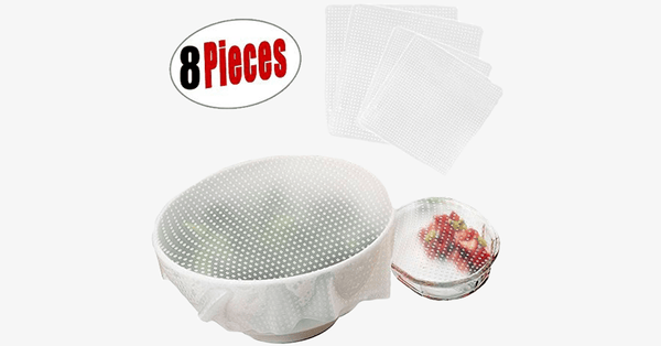 8 Pieces Food Protector Stretch - FREE SHIP DEALS