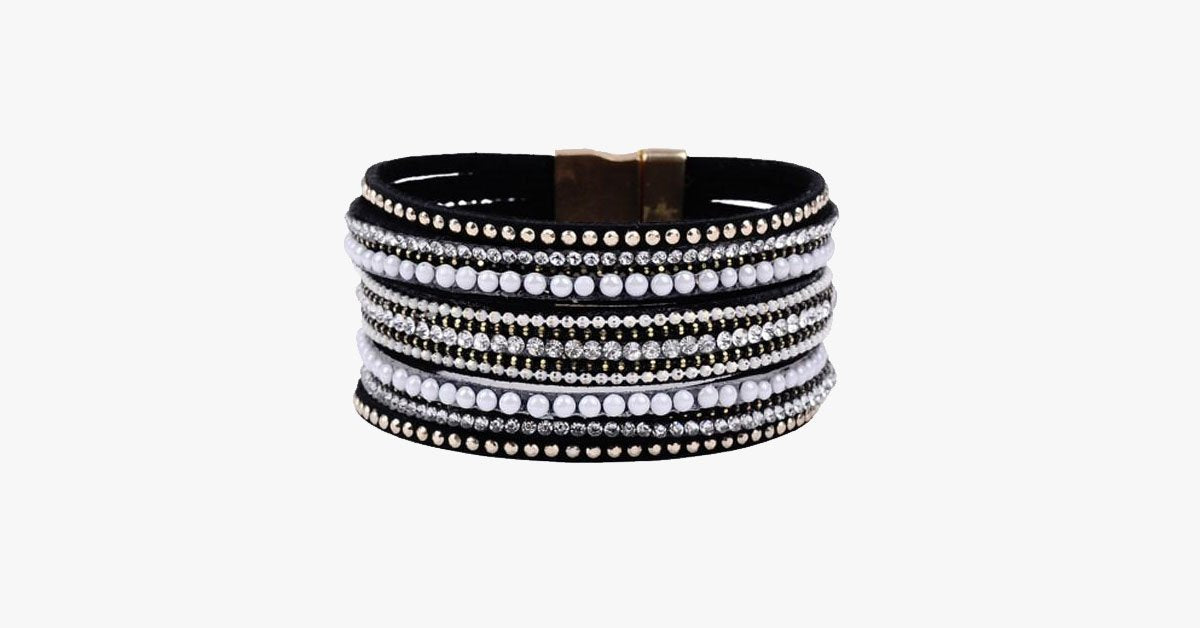 Crystal Wrap Bracelet - FREE SHIP DEALS