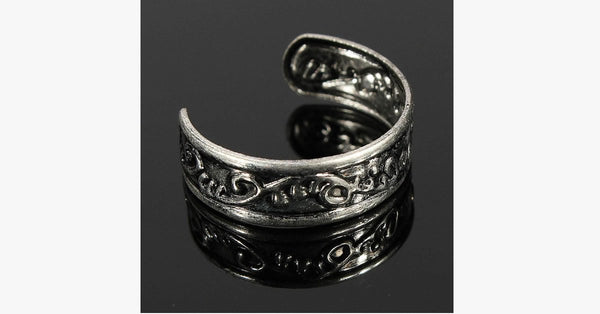 Antique Adjustable Toe Ring - FREE SHIP DEALS
