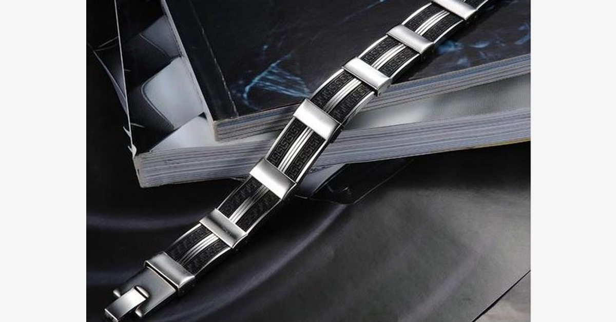 Dark Maze Stainless Steel Men's Bracelet - FREE SHIP DEALS