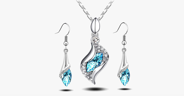 Hanging Crystal Drop Pendant Set - FREE SHIP DEALS