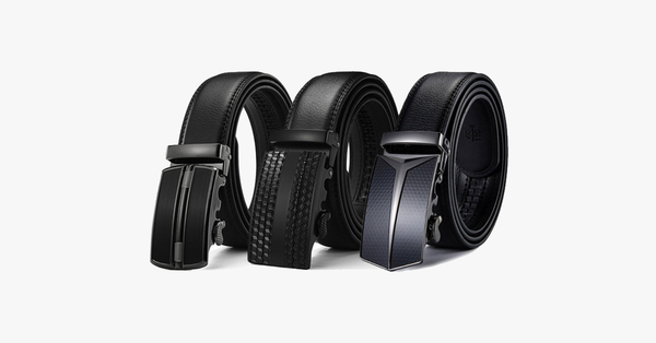 Genuine Leather Buckle Belt