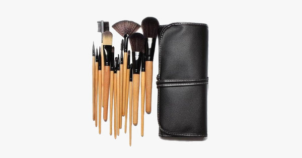 12 Piece Premium Wood Brush Set - FREE SHIP DEALS