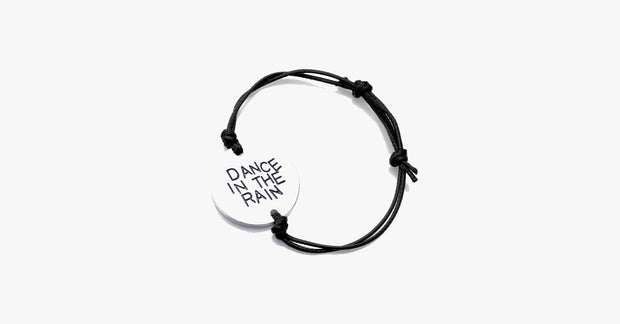 Dance In The Rain Hand Stamped Bracelet - FREE SHIP DEALS
