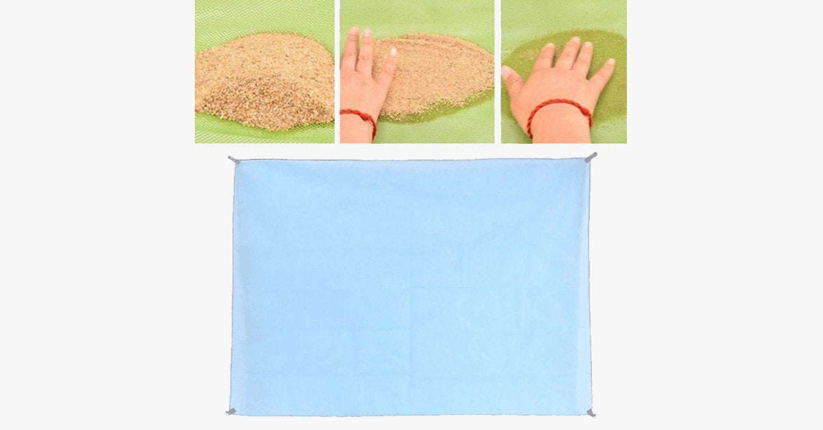 Magic Sand-Free Mat - Multipurpose Mat - Durable & Compact - Perfect companion for Beach, Travel, Hiking, Camping