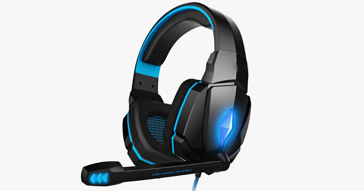 Gaming Headsets For PC Computer Gamer Tablet