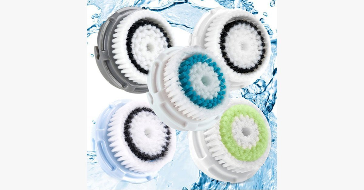2-Pack of Facial Brush Heads - FREE SHIP DEALS