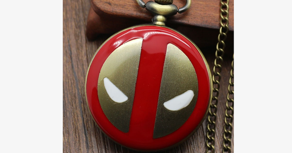 Iron Man Pocket Watch