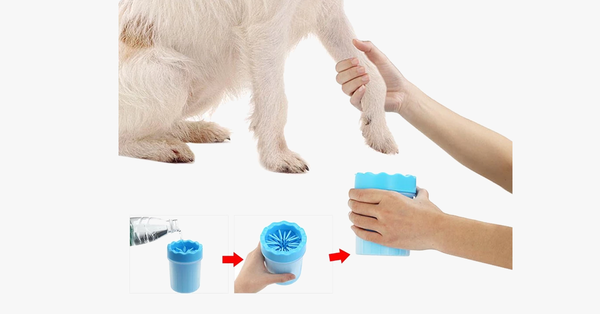 Pet Paw Soft Silicone Cleaner