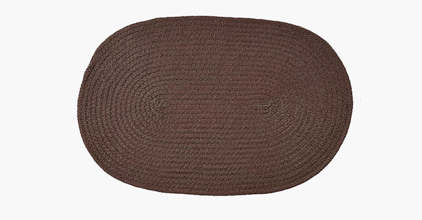 Country Braid Solid Rug
