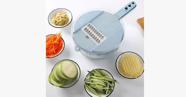Elegant Manual Chopper And Grater – Upgrade Your Cooking Skills!