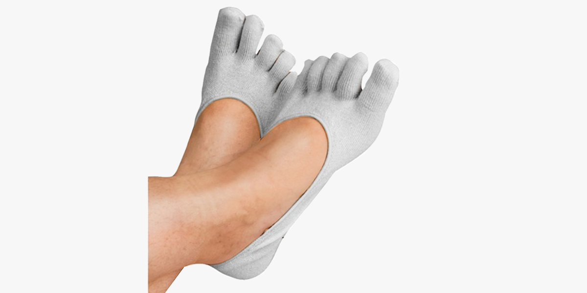 Women's Therapeutic Invisible Gel Heel Toe Socks