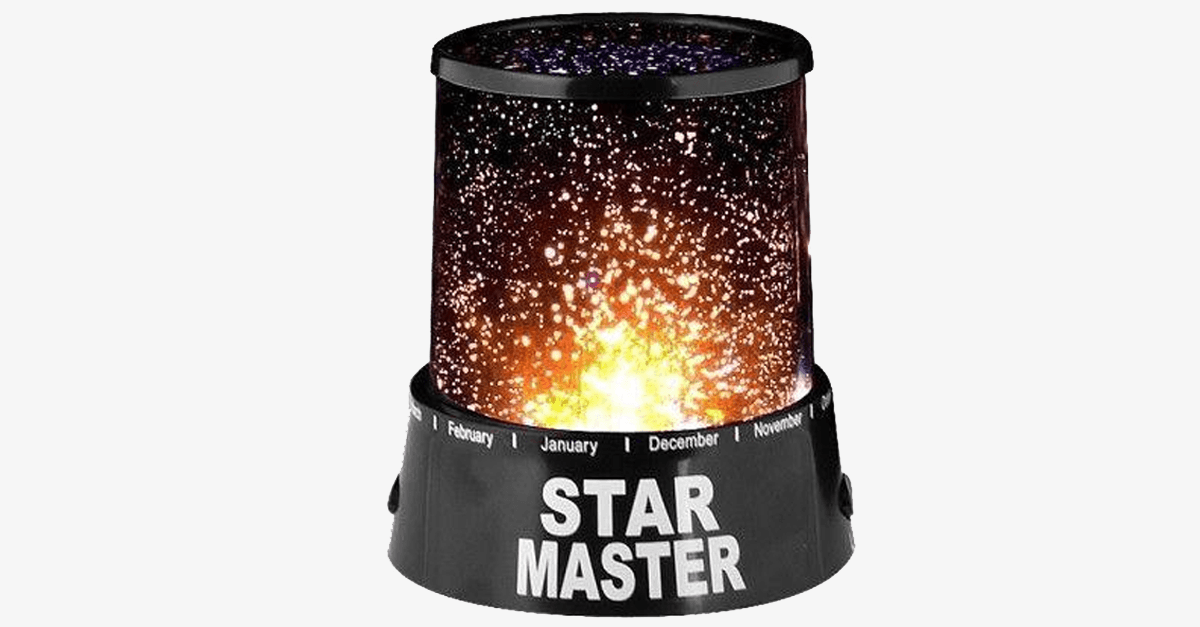 Attractive LED Star Projector Night Light