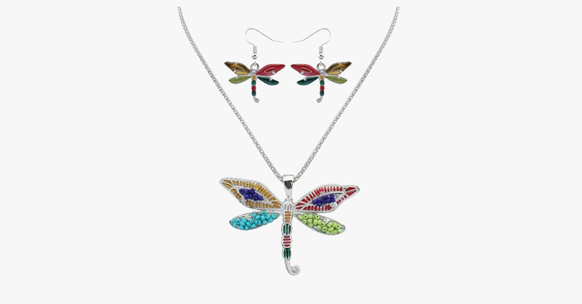 3pcs Butterfly Hippie Pendant Set - FREE SHIP DEALS
