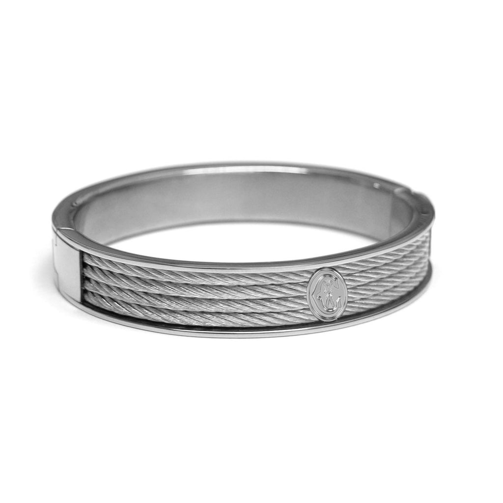 Forever-Bangle-Stainless-steel-Stainless-steel-cable-Size-L