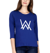 Alan Walker Womens Full Sleeves T-Shirts-FashionRazor