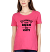 Legends are Born in March Womens Half Sleeves T-Shirts-FunkyTradition Half Sleeves T-Shirt FunkyTradition